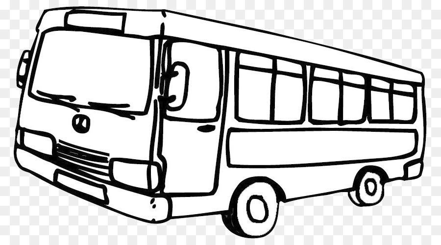 Bus Menggambar Buku Mewarnai Line Art Monica Bus Unduh Kendaraan