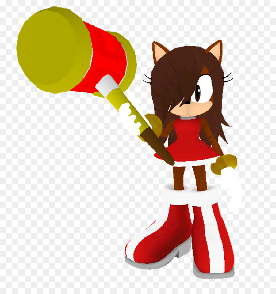 Mammal Character Fiction Clip Art Mobius Unleashed Amy Rose