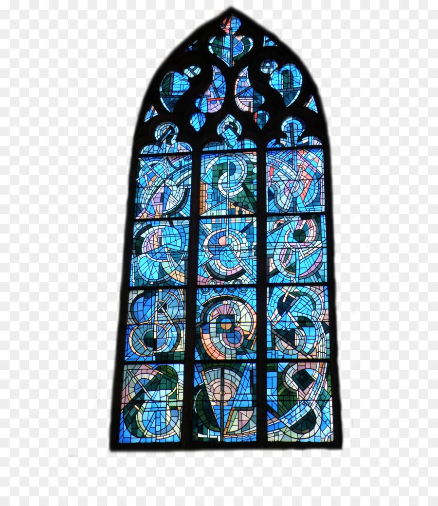Vitray Mavi Malzeme Kobalt Kilise Cam Resimleri Png Indir 774