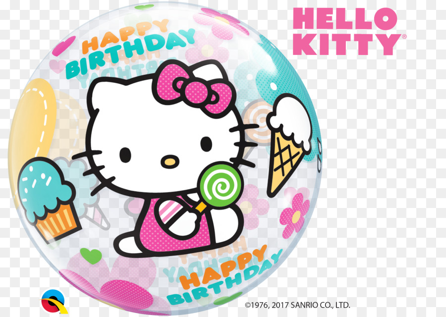 Balloon hello kitty birthday greeting note cards party balloon balloon hello kitty birthday greeting note cards party balloon m4hsunfo
