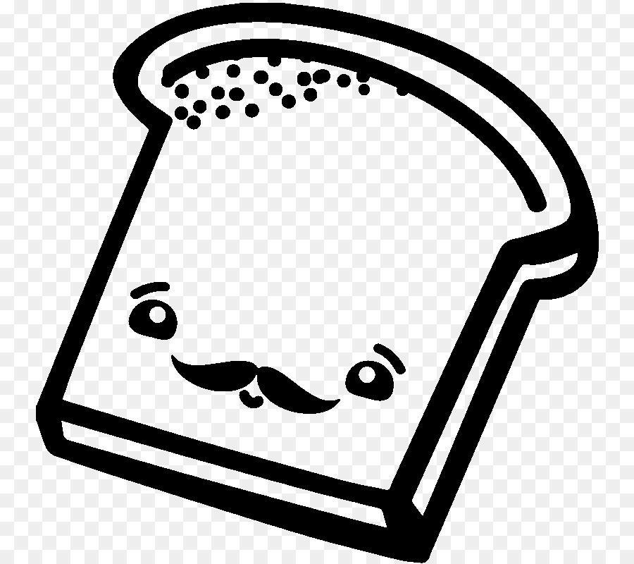 Torrija de pan Blanco, libro para Colorear, una rebanada de pan ...