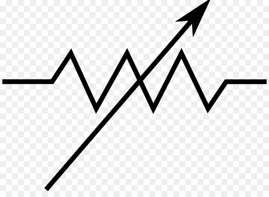 Potentiometer Electronic symbol Resistor Wiring diagram Electronic ...