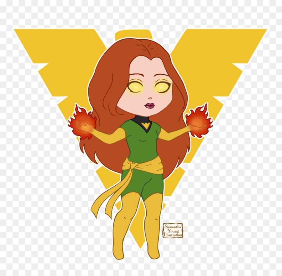 الأصفر Png قصاصة فنية Jean Grey Marvel Comics Phoenix Symbol X