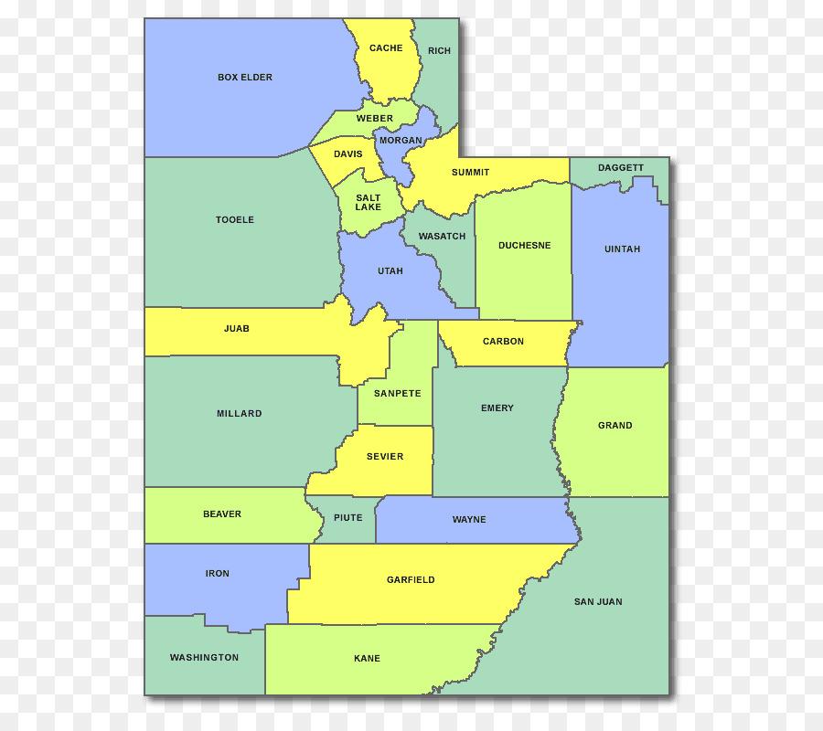 on map of utah counties