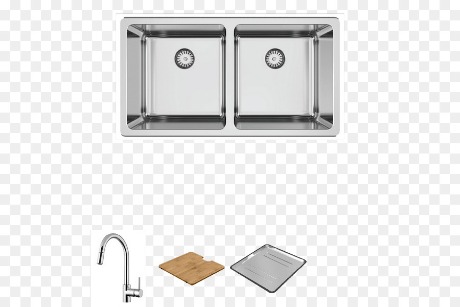 kitchen sink Abey Road Stainless steel Tap - sink png download - 600 ...