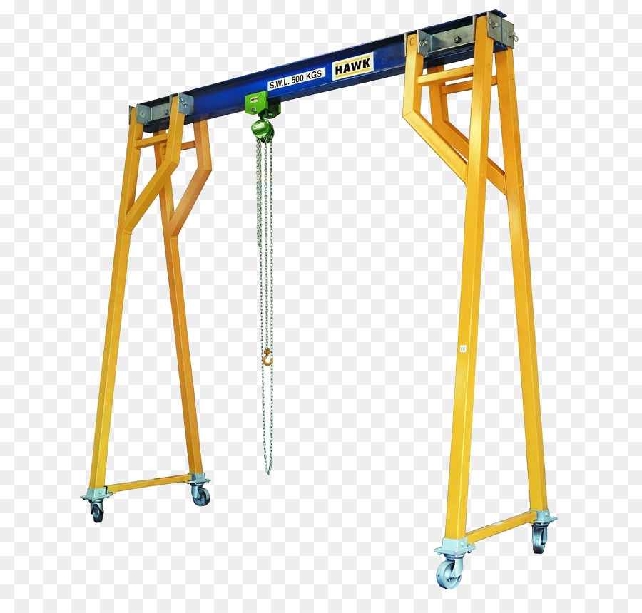 Hoist Yellow png download - 703*846 - Free Transparent Hoist png