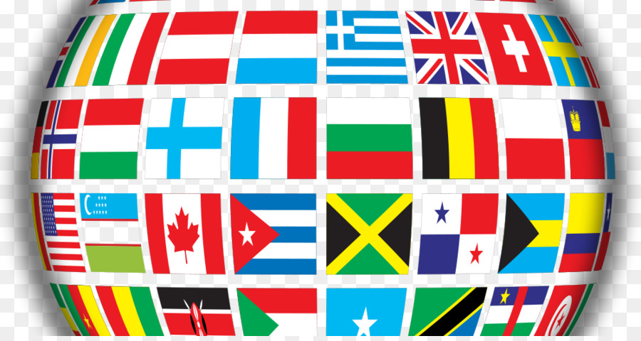 Map Of World Flags.Globe Flags Of The World World Map Globe Png Download 1000 525