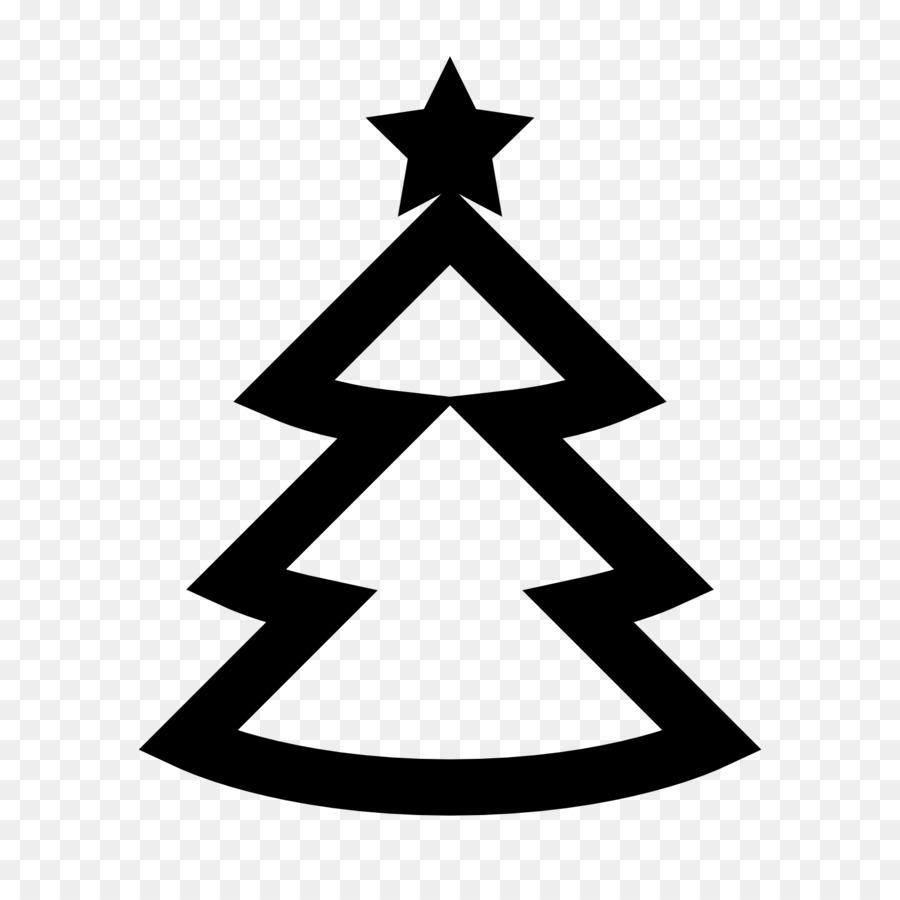 Weihnachtsbaum Schwarz Weiß.Computer Icons Immergrüner Baum Baum Schwarz Weiß Png