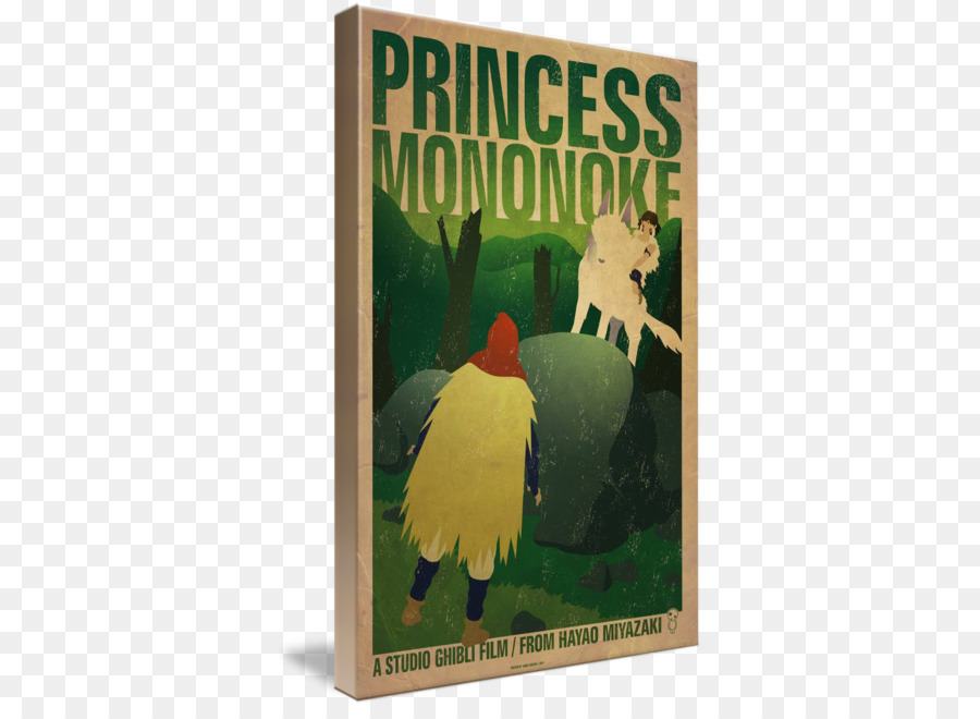 gallery wrap beak poster canvas art princess mononoke png download