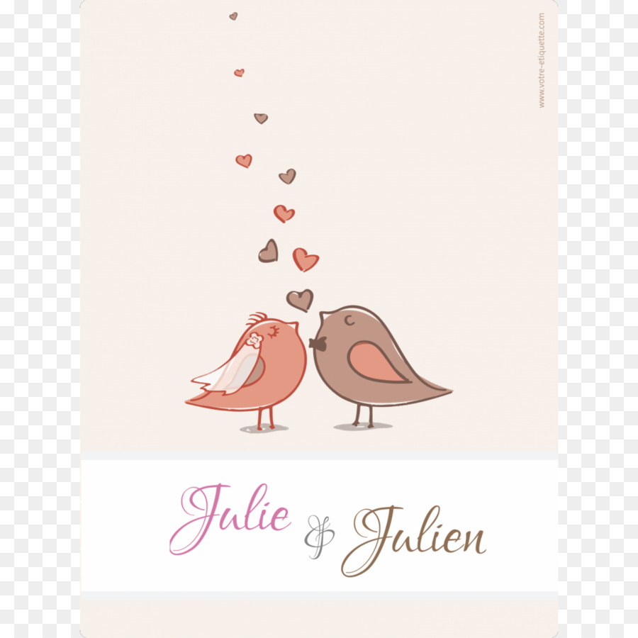 Wedding invitation wedding bird pink text png