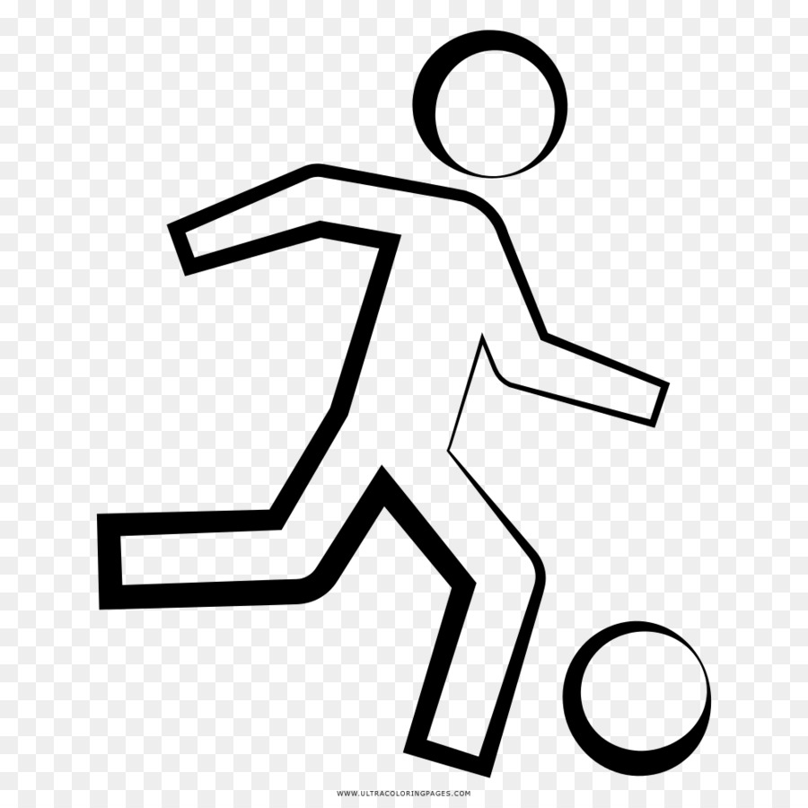 Football player Coloring book Drawing - football Formatos De Archivo ...