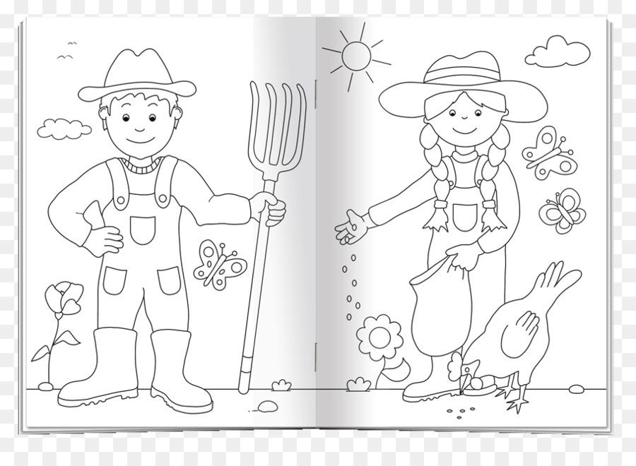Finger Paper Line Art Sketch Malbuch Png Download 910 648