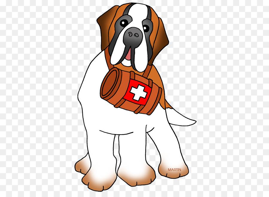 Dog breed Puppy St. Bernard Labrador Retriever Clip art - St ...