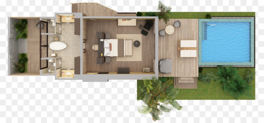Floor Plan The St Regis Maldives Vommuli Resort Villa Swimming Pool