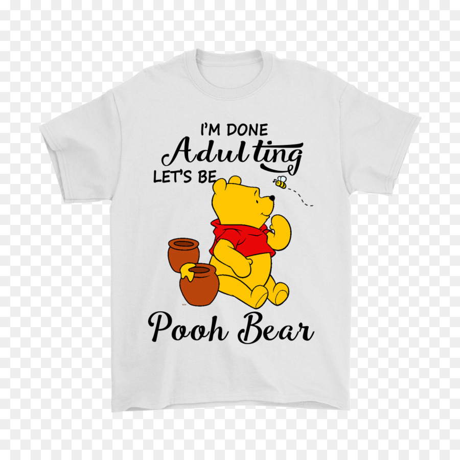 T-shirt Hoodie Bluza Sleeve Winnie-the-Pooh - T-shirt men png download -  1000 1000 - Free Transparent Tshirt png Download. a688169e6