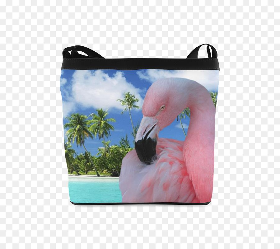 Bird Greater Flamingo Flamingos Bathroom Blanket