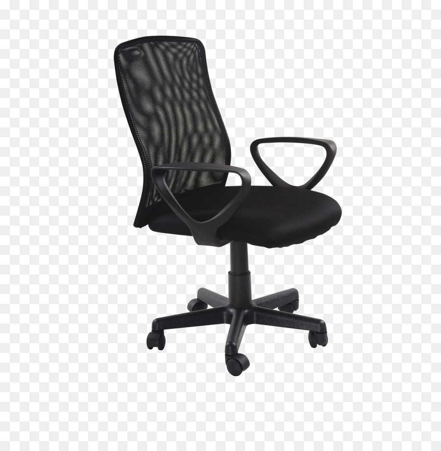 Office Desk Chairs, Swivel Chair, Ikea, Furniture, Black PNG