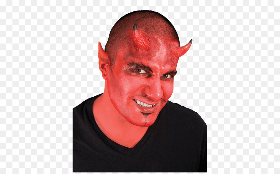 Nose Theatrical makeup Cheek Chin Devil - nose png download - 555*555 - Free Transparent Nose png Download.