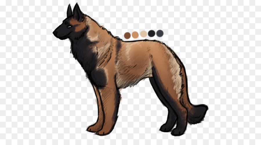 German Shepherd Dog png download - 550*500 - Free Transparent German
