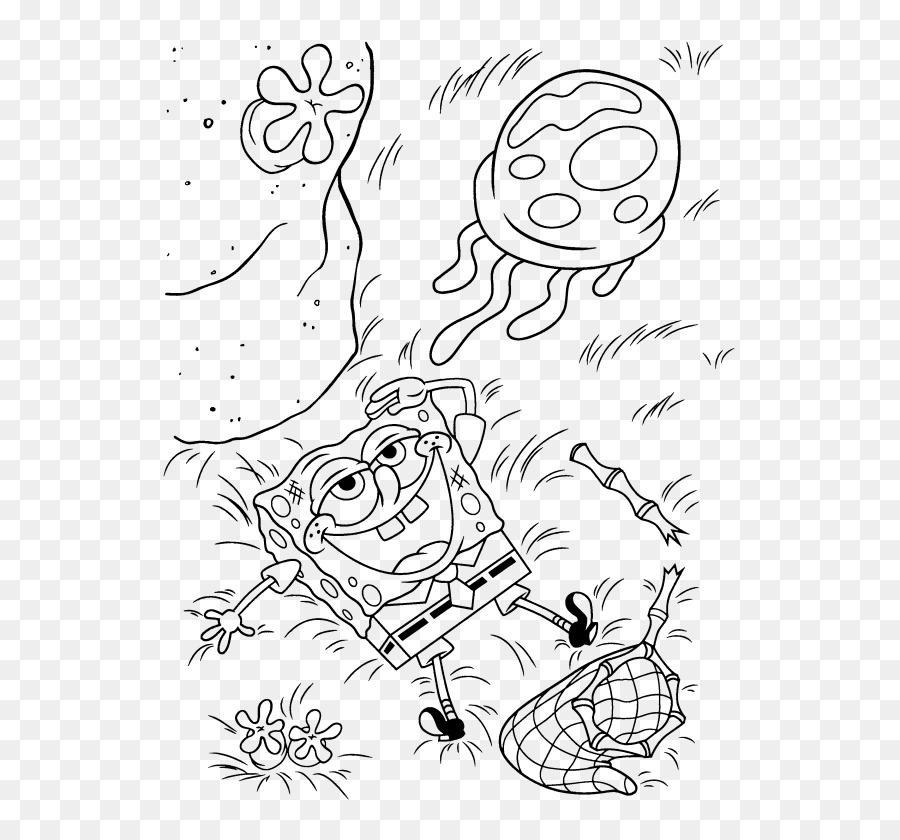 Las medusas Kleurplaat libro para Colorear dibujos animados de arte ...