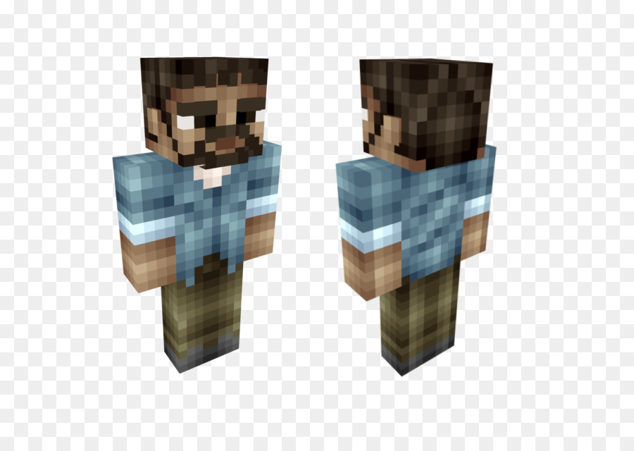 The Walking Dead Minecraft Lee Everret Roblox Skin The Walking - Skins para minecraft the walking dead