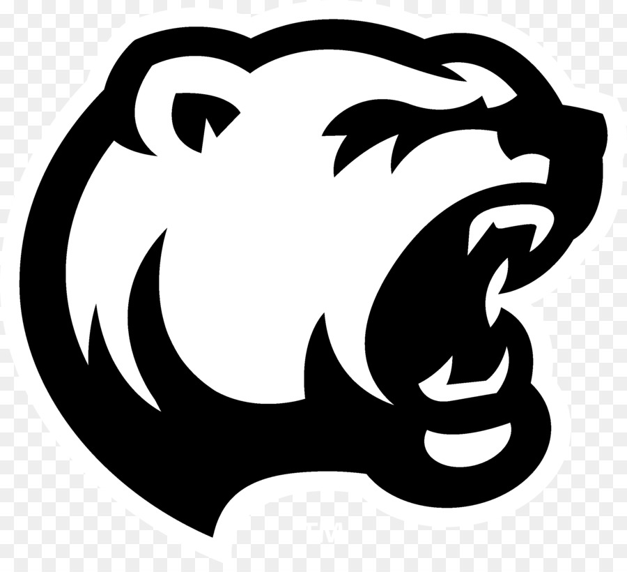 Chicago bears white background. American football png download