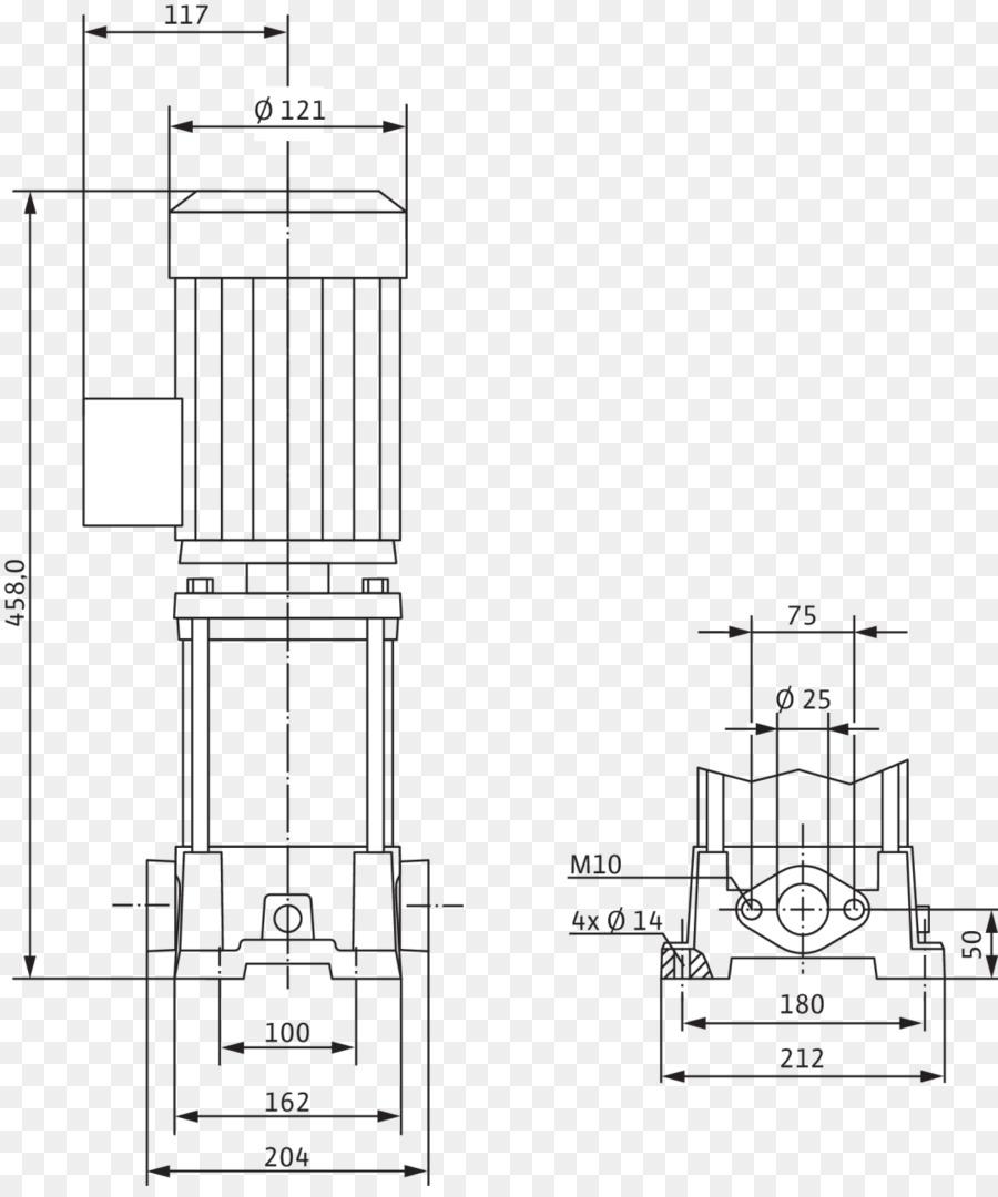 Submersible Pump Drawing png download - 1077*1280 - Free Transparent