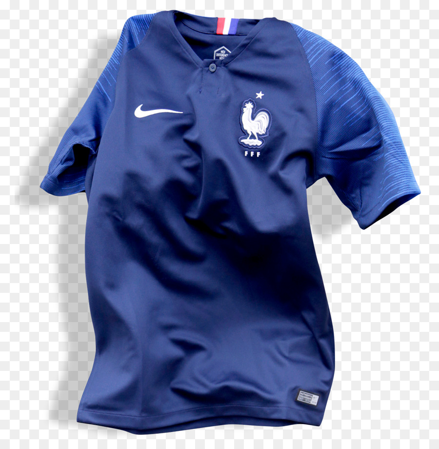 low priced 7262d 0f0e3 France national football team 2018 World Cup T-shirt Russia ...