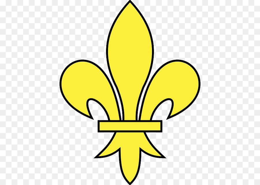 Fleur De Lis Heraldry Symbol France Flower Symbol Png