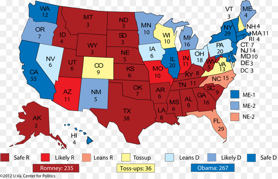 California Us State Us Presidential Election 2016 Federal - Us-presidential-election-map