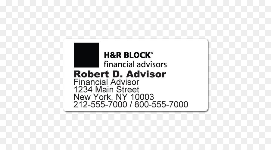 H R Block Marka Cizgi Siyah M Tipi Cizgi Png Indir 500 500