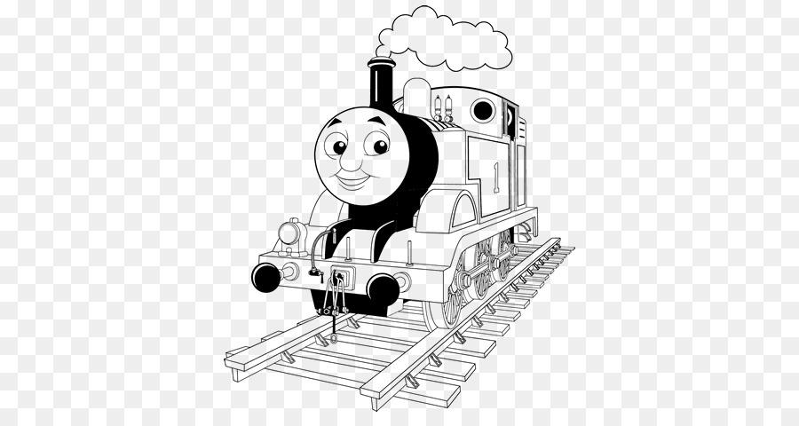 Thomas Train Coloring book Diesel locomotive Diesel engine - train ...