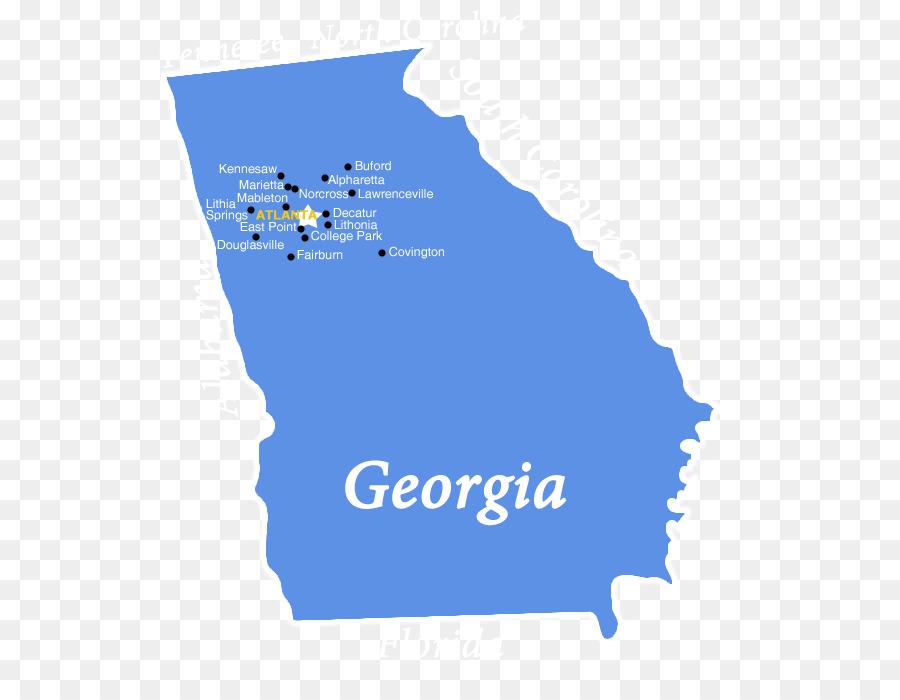 Georgia State Capitol U.S. state Map Clip art - Atlanta ga png ...