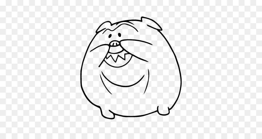 Bulldog Francés Dibujo Francia Pintura - perro sonrisa png dibujo ...