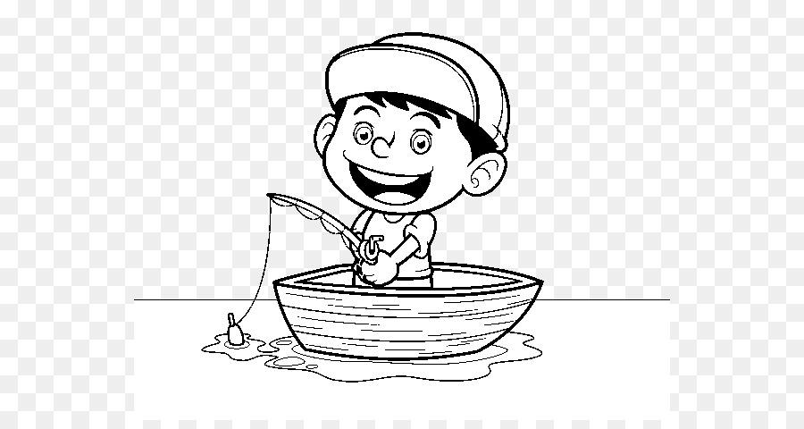 Libro para colorear de Dibujo de Pesca de Pintura Infantil - Fisher ...