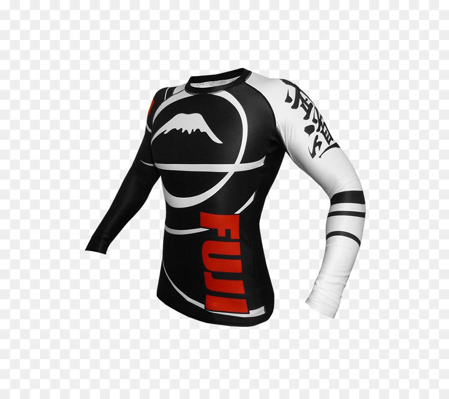 fe7d744bb0 T-shirt en Jersey de Rash guard Manches Internationale de Jiu-Jitsu  Brésilien Fédération - T shirt