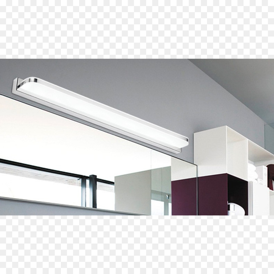 Light fixture Light-emitting diode Bathroom Mirror - light png ...