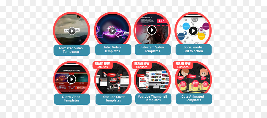 Video Template Camtasia Multimedia - Cover fx png download - 700*400
