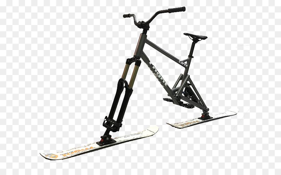 Bicycle Frames Skibobbing Skiing - Bicycle png download - 704*557 ...