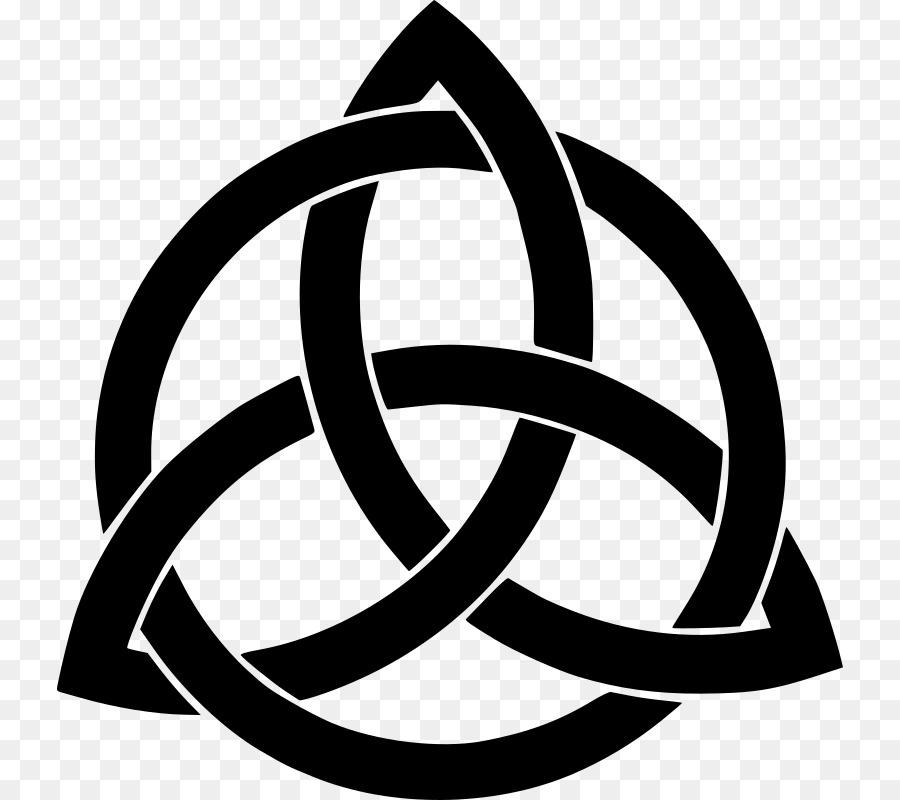 Celtic Knot Triquetra Symbol Celts Symbol Png Download 786800