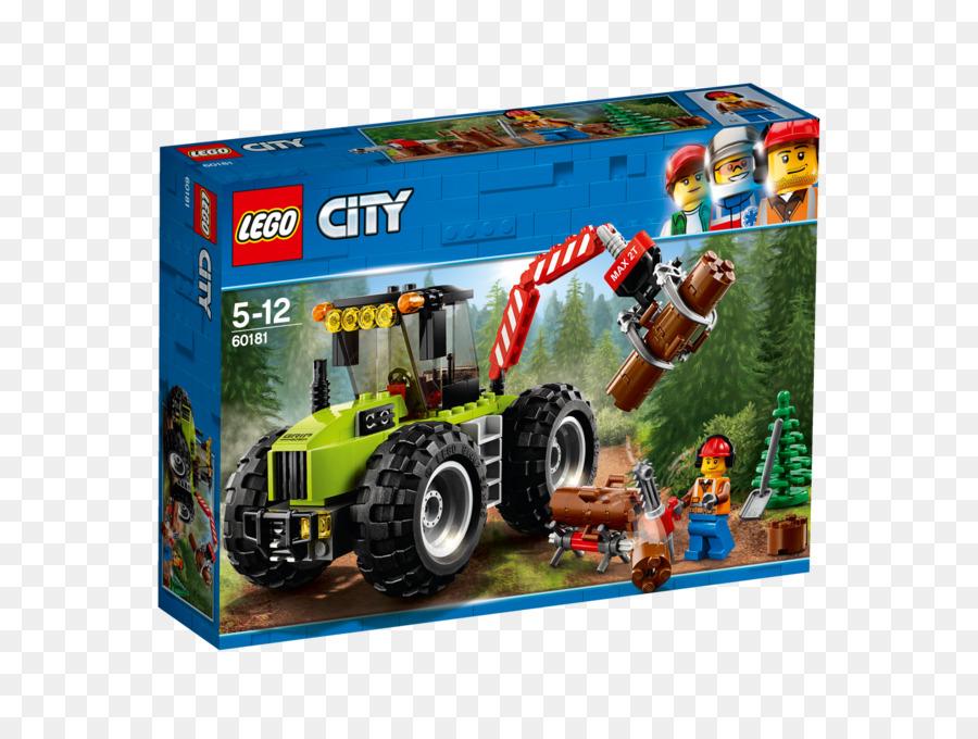 Forêt 60137 De Ville Lego Tracteur La 60181 Jouet uKclJ1TF3
