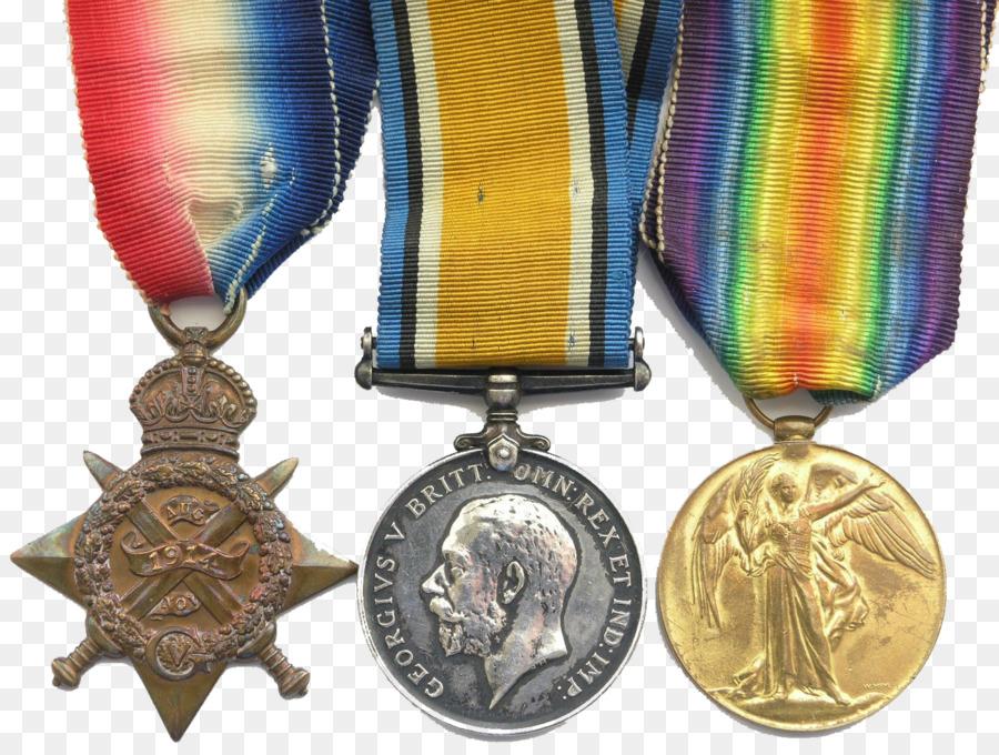 Medalla de oro de la Primera Guerra Mundial Británico de la Guerra ...