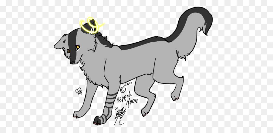 Perro Oveja Cabra De Mamíferos Gato El Lobo Y La Luna Png Dibujo