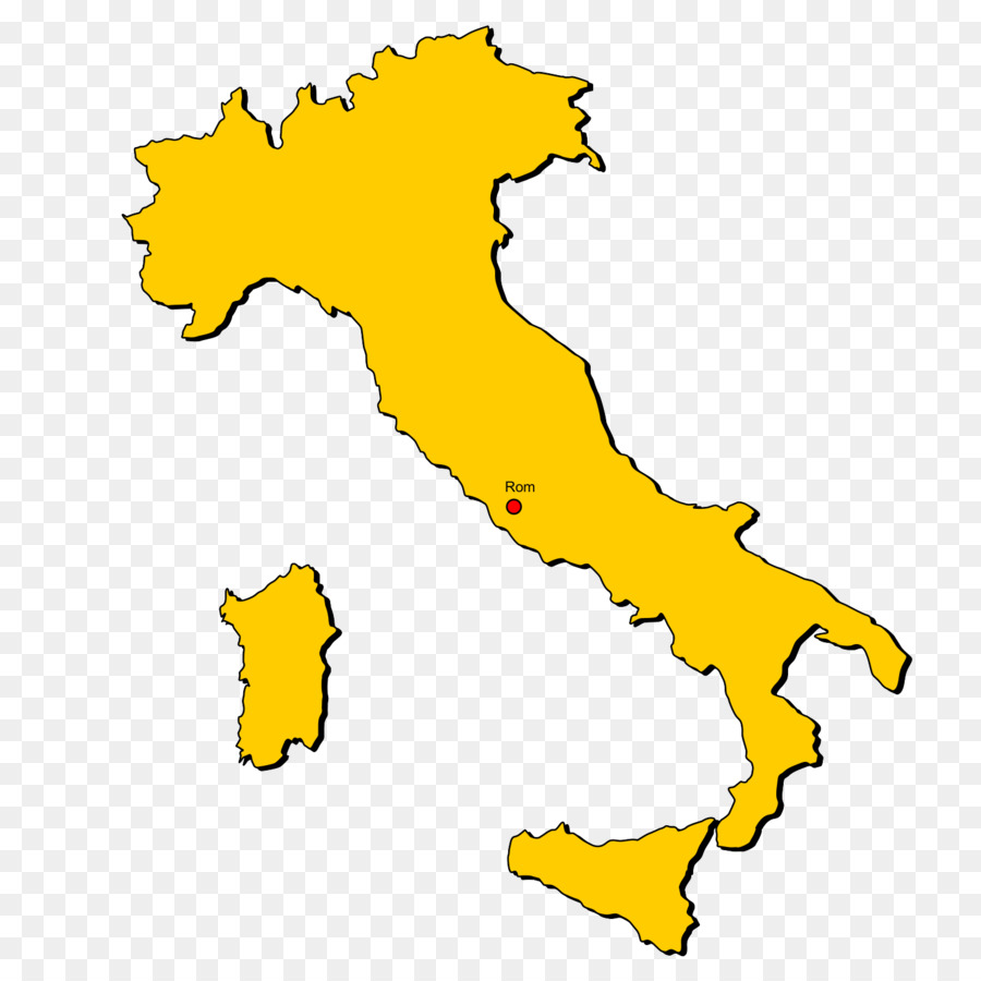 Regions of Italy Campania Apulia Piedmont Northern Italy - map png ...