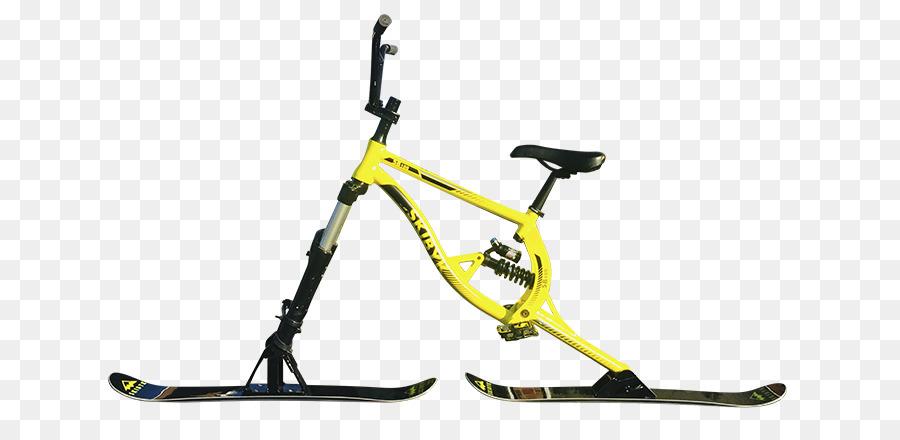 Bicycle Frames Skibobbing Skiing - Bicycle png download - 700*424 ...