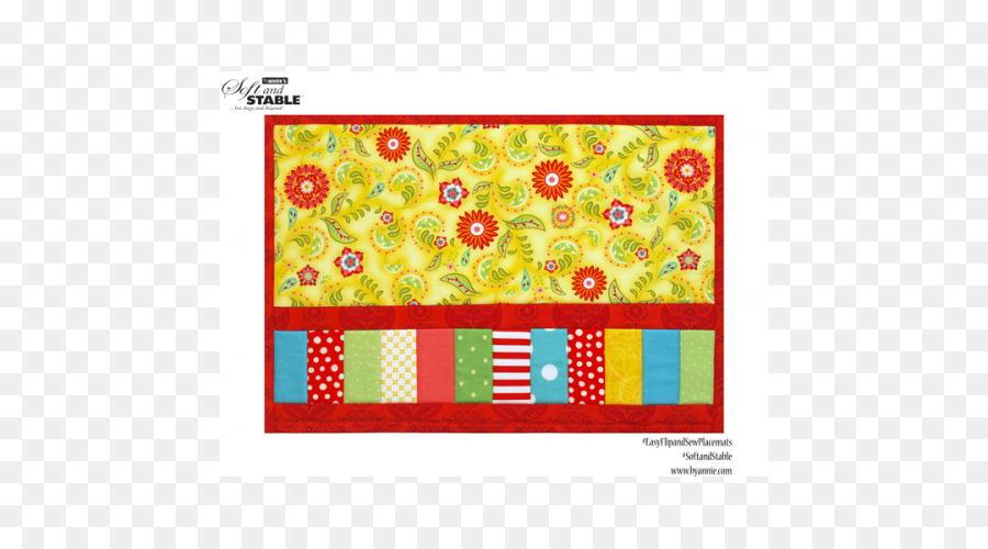 Tischsets Textil Näh-Quilt-Muster - Nähen Stich png herunterladen ...