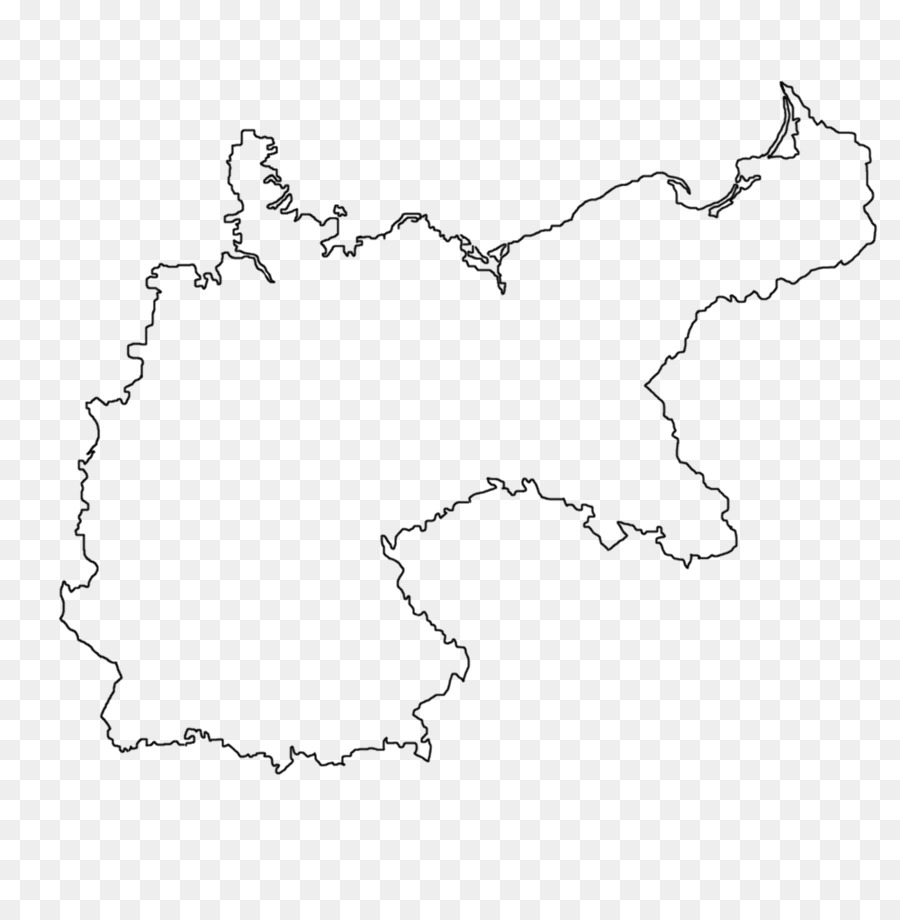 Flag of Germany German Empire Map Coloring book - map png download ...