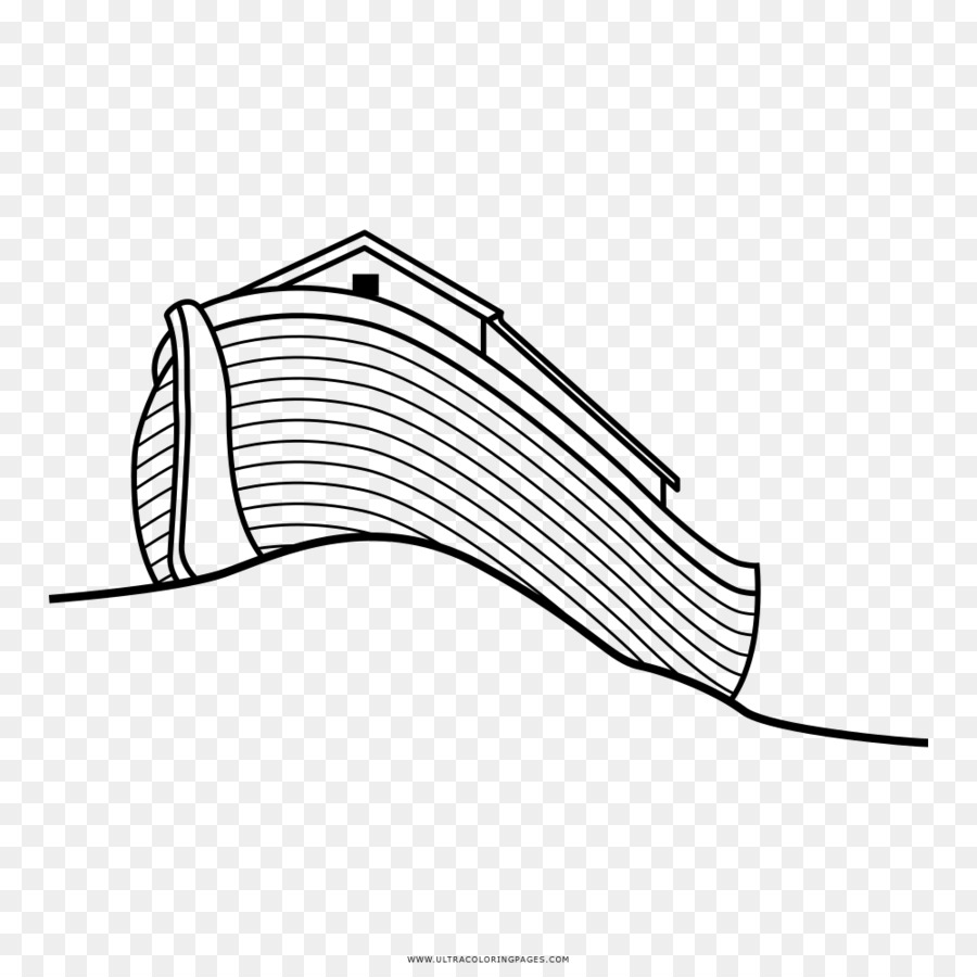 Noah\'s Ark Bible Drawing Coloring book Ausmalbild - Arca De Noe png ...