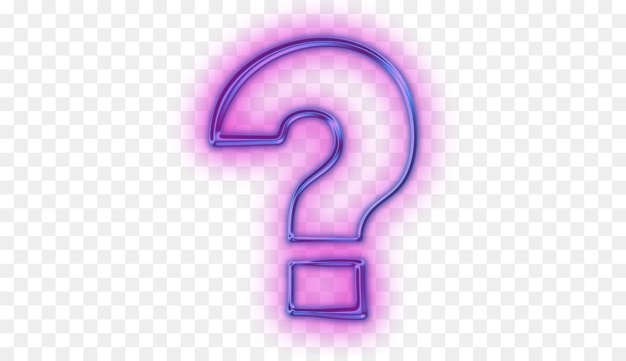 Il Punto Interrogativo Computer Icone Clipart