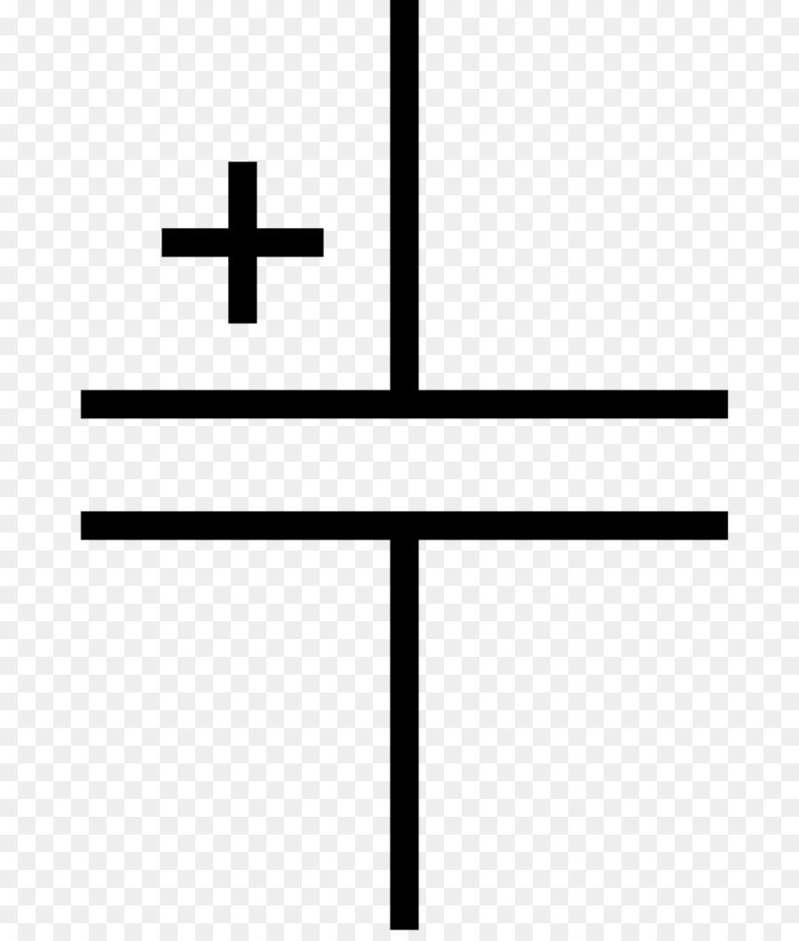 Electronic symbol Electronic circuit Electrolytic capacitor ...